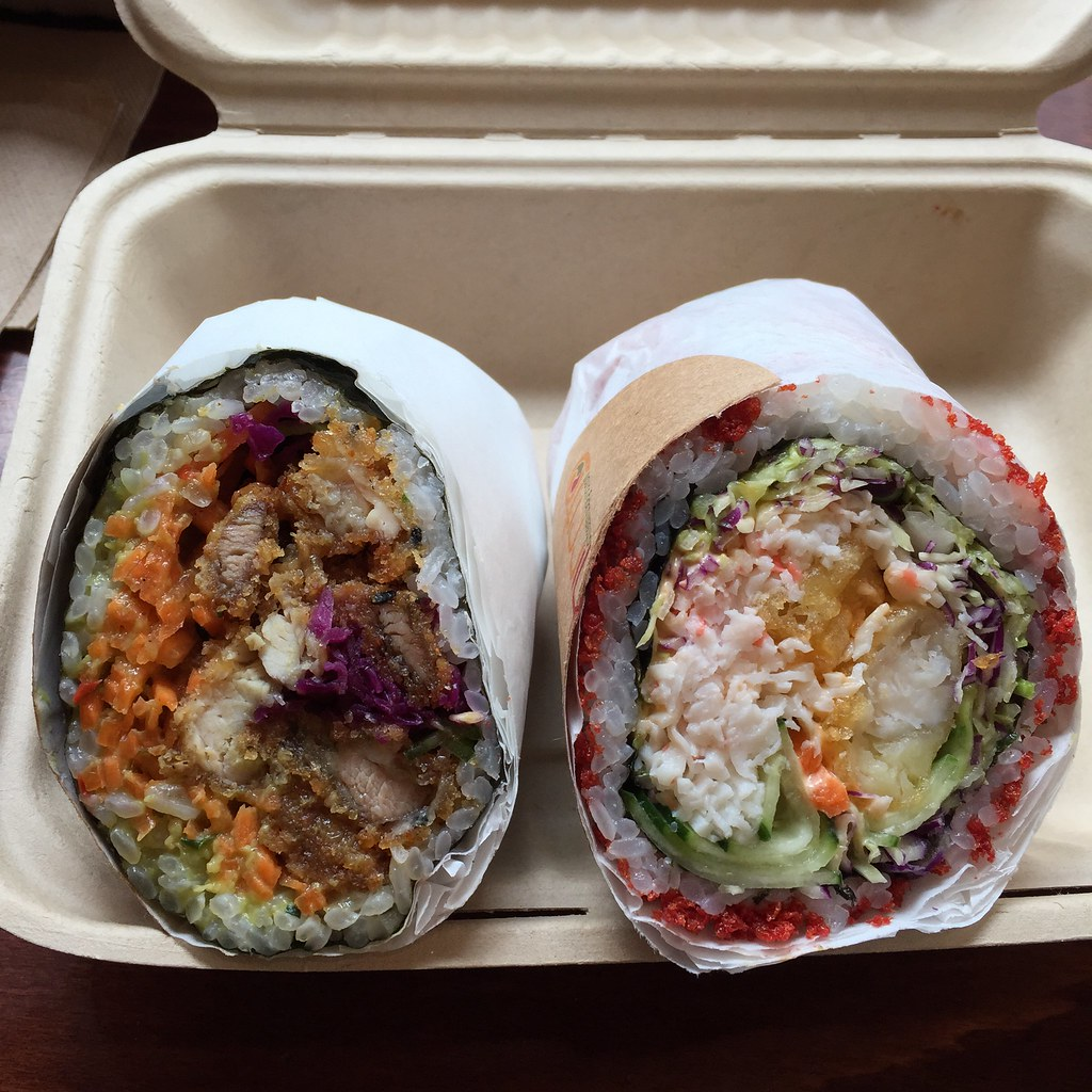Sushiritto sushi buritto San Francisco review