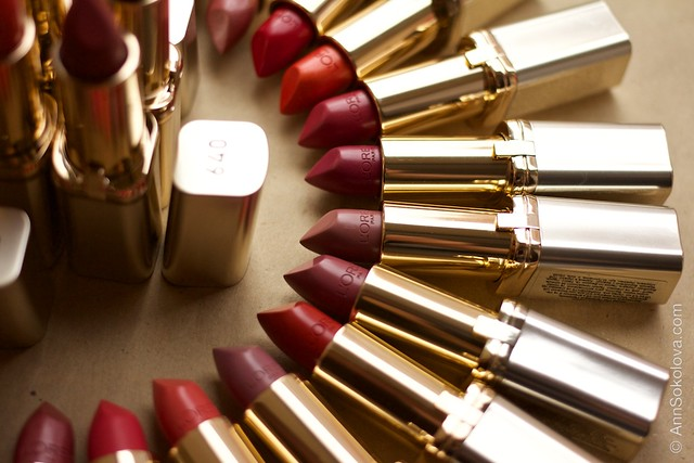 07 L'Oreal Paris Color Riche Lipstick 30 years 30 new shades swatches
