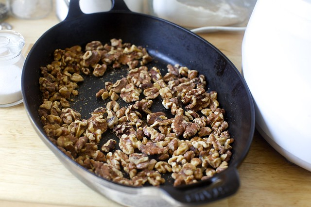well-toasted walnuts