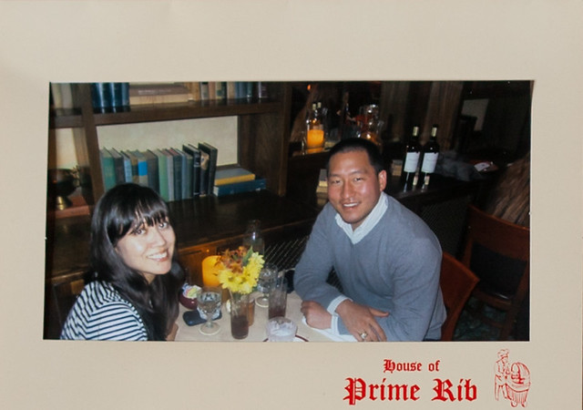 house of prime rib // october 2012