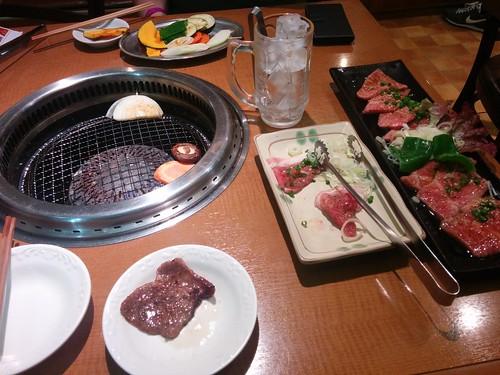 Dinner in Tokyo