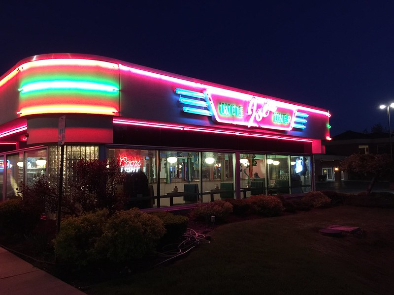 Uncle Joe's Diner, with beef on deck (a new-ish joint)