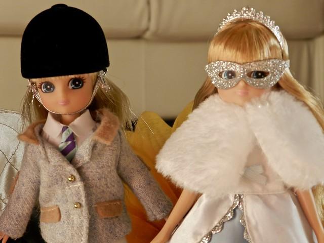 bambola Lottie a cavallo e Lottie regina delle nevi