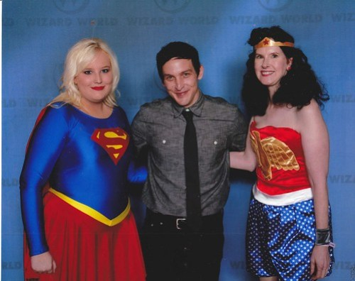 Supergirl, Penguin and Wonder Woman