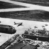 Campo de Aviação de Pedras Rubras, em 1945