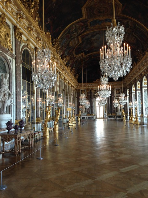 Hall of Mirrors - Chateau Versailles