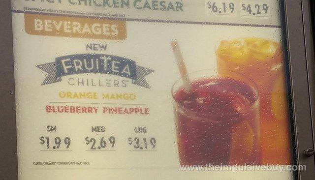 Wendy's FruiTea Chillers