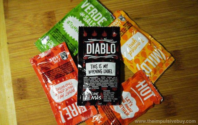 Taco Bell Diablo Sauce 3
