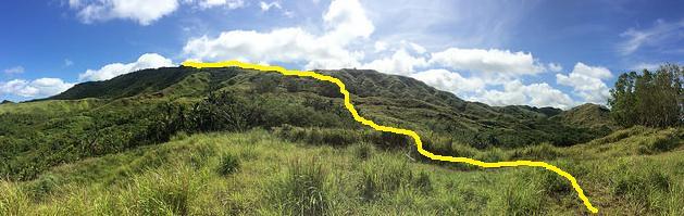 Mt. Lamlam route