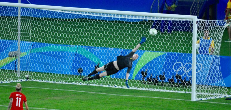 Diving keeper