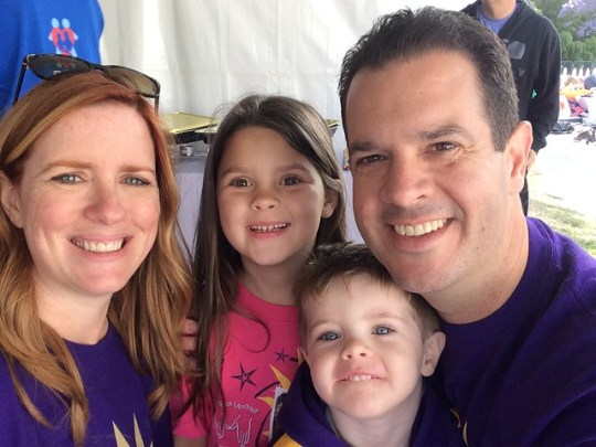 backstage at the 2016 March for Babies