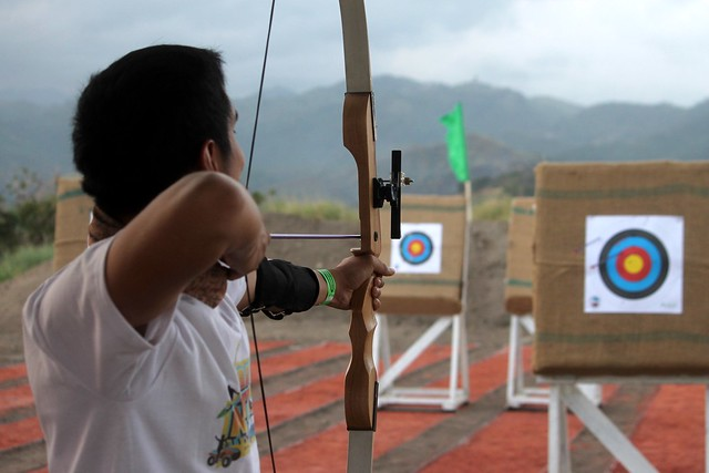 Archery at Sandbox at Alviera