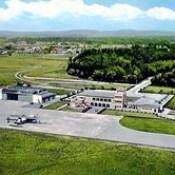 Vista Aérea do Aeroporto de Pedras Rubras