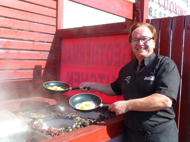 En Islandia se cocina en algunos sitios aprovechando la energía geotérmica