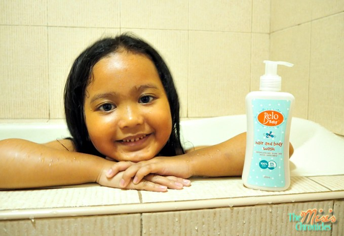belo baby hair and body wash