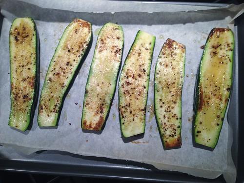roasted zucchini boats