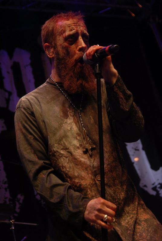 Nick Holmes of Bloodbath