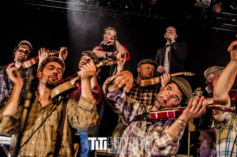 The Big Ukulele Syndicate-Grenoble-2016-Sylvain SABARD
