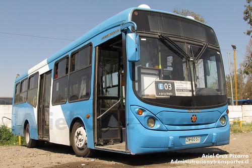 Transantiago (Archivo) - Unitran - Marcopolo Gran Viale / Agrale (ZW6057)