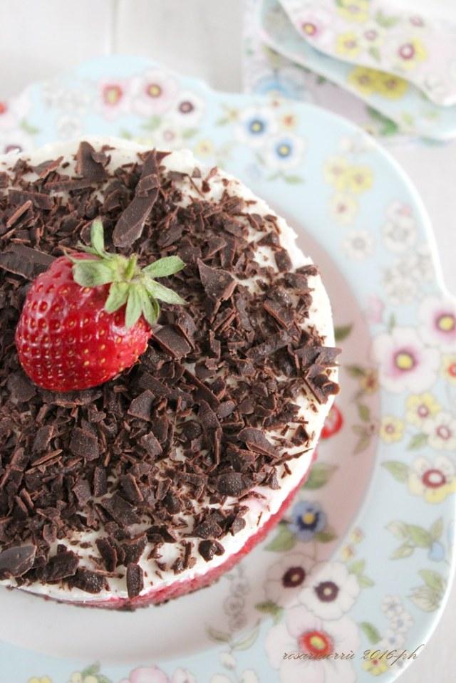 cheesecake fragole panna mascarpone cioccolato