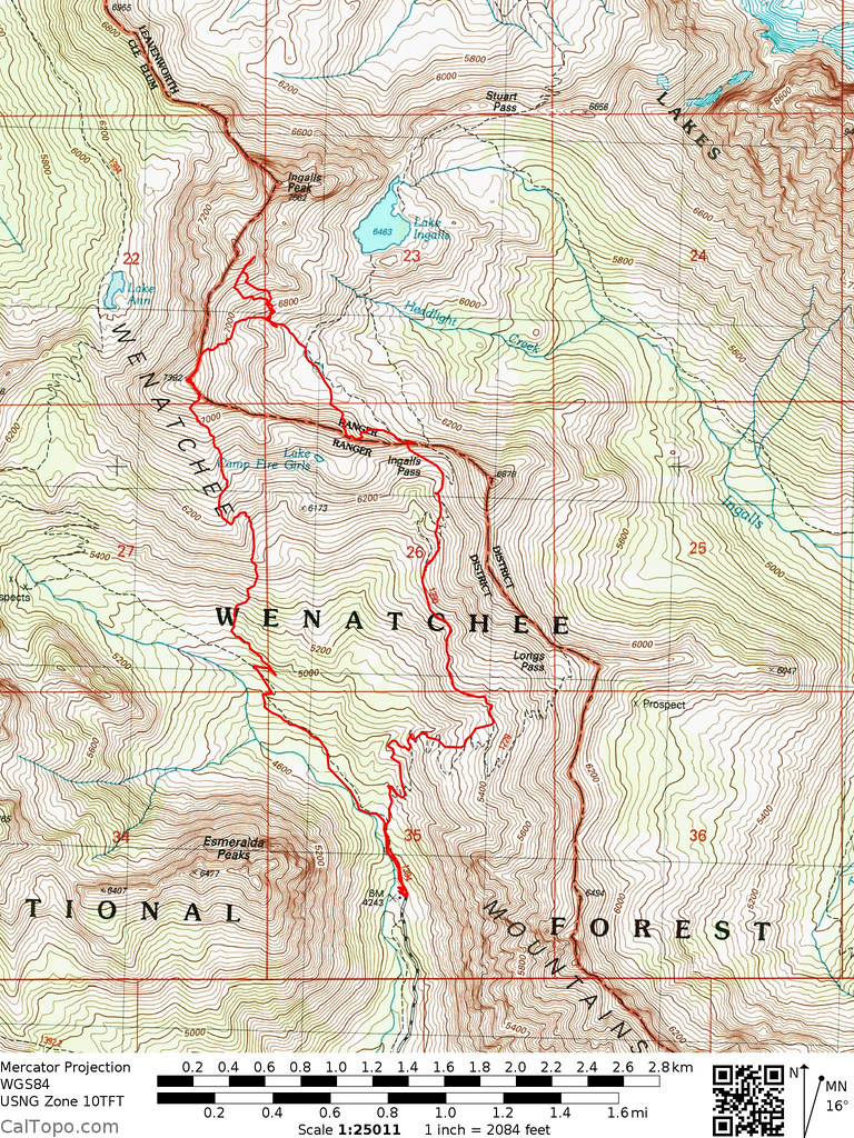 20150503 - Ingalls Basin Tracks