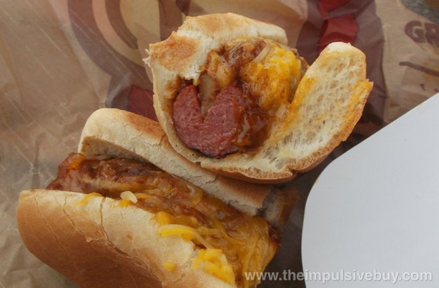 Burger King Grilled Dogs Chili Cheese 2
