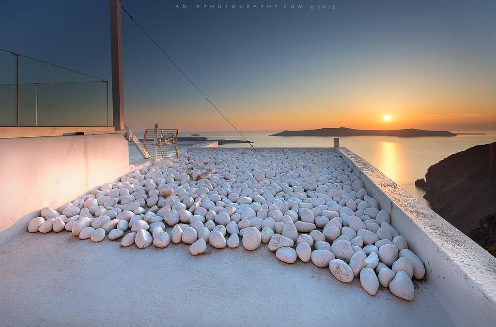 Santorini - Fira sunset