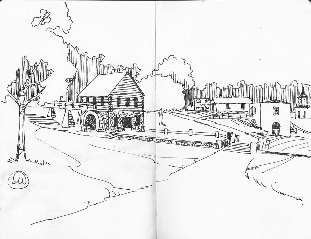 Urban Sketchers Midwest June