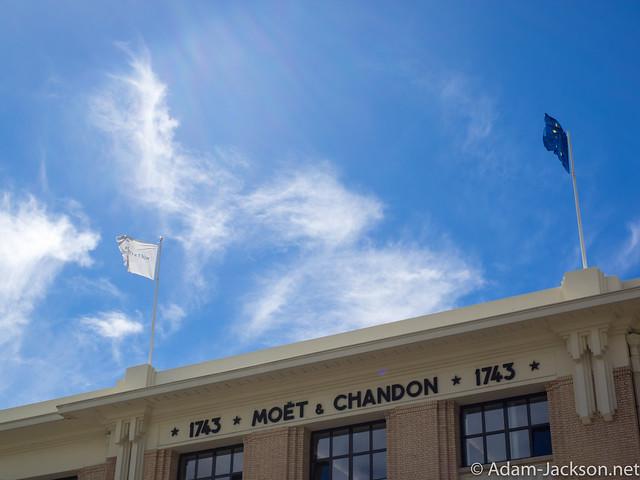Moet & Chandon Champagne France Trip