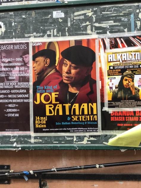 Joe Bataan in Stockholm
