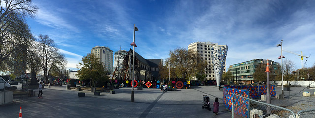 Panorama Photo at Cathedral Square