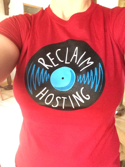 Reclaim hosting swag