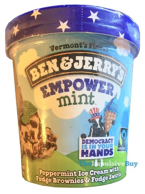 Ben & Jerrry's Empower Mint