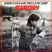 Vintage Vinyl LP Record Album - Scarecrow Vinyl Album By John Cougar Mellencamp, Catalog Number IM8 24865, Riva Records, 1985.