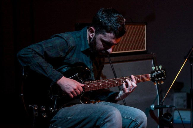 Paolo Spaccamonti + Fabrizio Modonese Palumbo @ Caos (14/05/15)