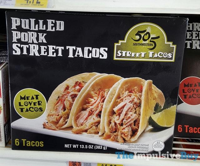 505 Southwestern Pulled Pork Street Tacos