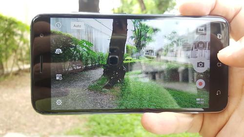 User Interface กล้องของ Zenfone 3 ZE520KL