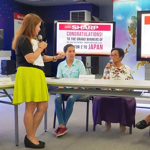 Sharp We Love Phiippines Winners 1