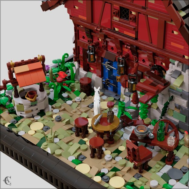 Guarded Inn 6067 Remastered - Yard detail
