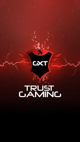 Trust Gaming Smartphone Wallpaper - Logo Spark