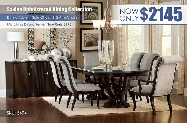 Savion Upholstered Dining Collection_5494