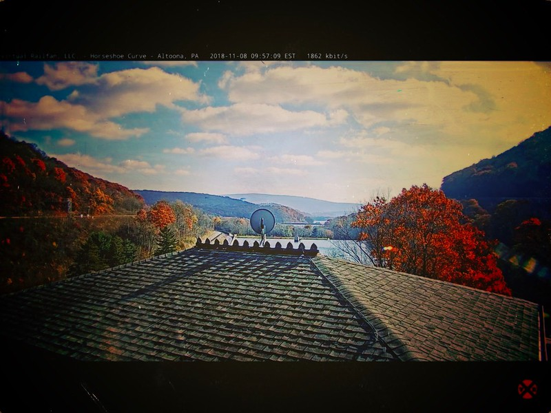 Horseshoe Curve view of Altoona Reservoir