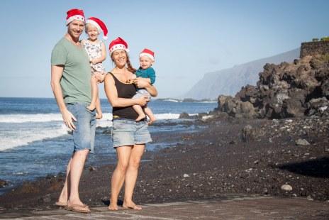 Christmas pic on Tenerife