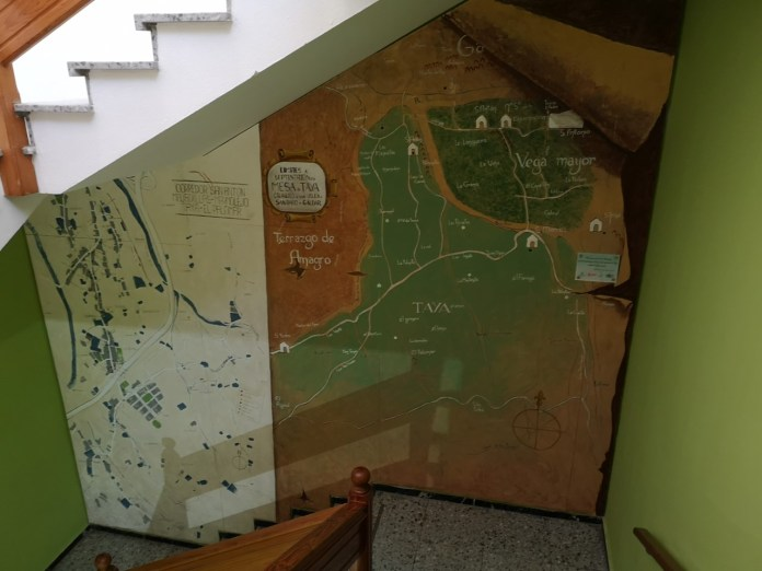 Inauguración del panel mural y exposición de pintura en Marmolejo