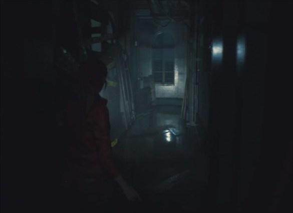Resident Evil 2 Remake - Hallway