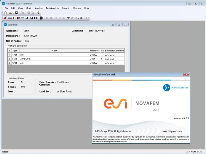 Working with ESI NOVAFEM 2018.0 Win64 full license
