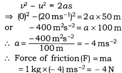 RBSE Solutions for Class 9 Science Chapter 9 Force and Motion.22