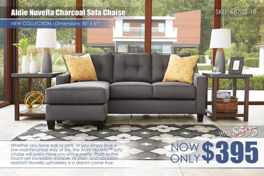 Aldie Nuvella Quartz Sofa Chaise_68702-18-SET