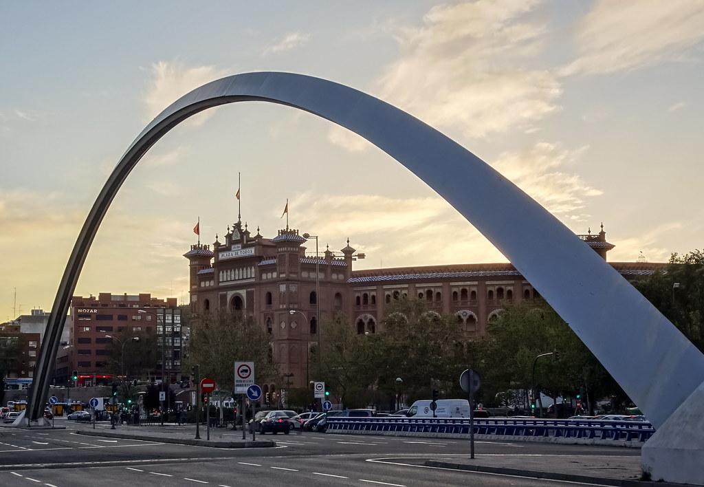 Plaza de Toros y Puente de Ventas Madrid