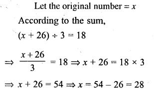 Selina Concise Mathematics Class 6 ICSE Solutions - Simple (Linear) Equations (Including Word Problems) - d6
